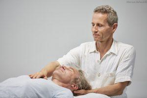 Craniosacrale Behandlung, Nacken - Brustbein