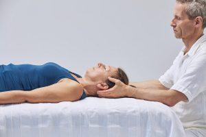 Craniosacrale Therapie, Cradle, Einstimmung
